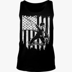 American Flag #Fishing T Shirt, Order HERE ==> https://www.sunfrog.com/Hobby/130464680-857111617.html?89701, Please tag & share with your friends who would love it, #christmasgifts #renegadelife #birthdaygifts  #fishing girls, fishing women, fishing recipes  #family #legging #shirts #tshirts #ideas #popular #everything #videos #shop
