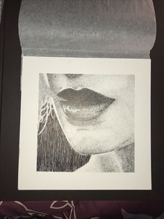 Stippling of face