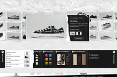 Converse Relaunch by André Britz, via Behance