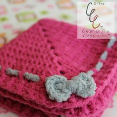 My First Lovey - Free Crochet Pattern by Guest Contributor Cream of the Crop Crochet for The Stitchin' Mommy   www.thestitchinmommy.com