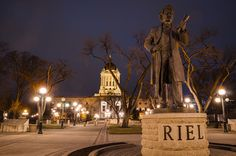 Louis David Riel a founder of the province of Manitoba by Fitz C., via Flickr.