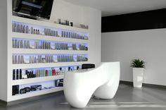 Hair Salon Interior Design | Este Team Hair Salon on Behance