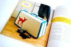 Mod Podge Rocks Book Be a Deer Suitcase