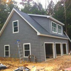 W3935 plan de garage avec logement 2 chambres 2 salles for Garage plan de campagne ouvert dimanche