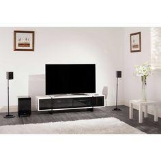 Techlink Edge ED160WT 2 Shelf TV Stand - White