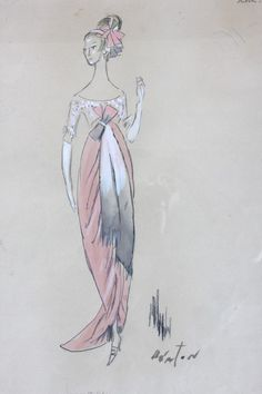 Costume designs by Cecil Beaton for My Fair Lady (1964) From Kerry Taylor Auctions