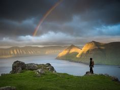Midnight Sun in the Faroe Islands - A lost world - Adventure & Landscape Photographer - Tom Archer Pictures Of Beautiful Places, Amazing Places On Earth, Visit Faroe Islands, Midnight Sun, Space Travel, Archipelago, Landscape Photographers, Travel Inspiration, Places To Visit
