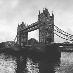 Tower Bridge, Black And White, Travel, Instagram, London, Black White, Viajes, Black N White, Destinations