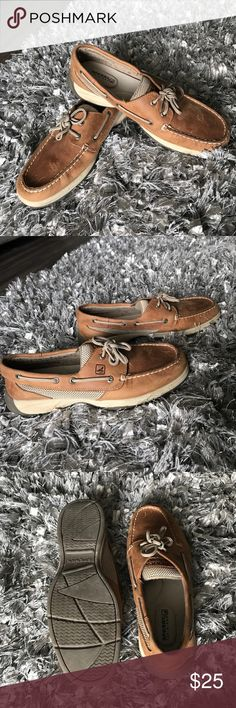 Woman Sperry's I used this pair of sperry's 2or 3 times. Very comfortable Sperry Shoes
