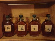 Maple Syrup labels