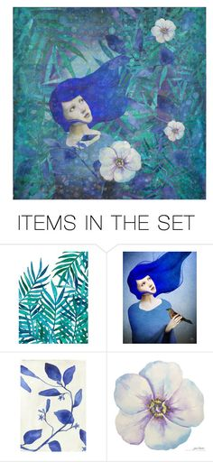 """""""summer"""" by bapiep ❤ liked on Polyvore featuring art"""