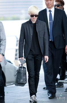 140510 EXO Suho | Incheon Airport to Shanghai