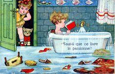 Bathtub reading