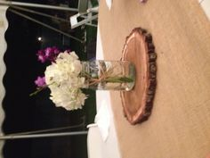 very simple Table centerpiece, add a few votive candles around it