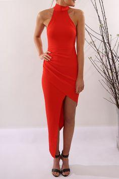 McKenzie Dress Red