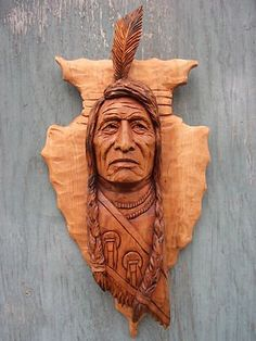 25 trendy ideas for indian wood carving patterns Wood Carving Faces, Tree Carving, Wood Carving Patterns, Wood Carving Art, Wood Art, Wood Carvings, American Indian Art, Native American History, Native American Indians