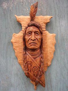 native arrowhead carving