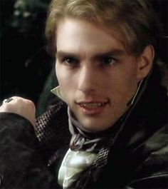 Tom Cruise as vampire Lestat. Real Vampires, Vampires And Werewolves, Anne Rice, Lestat And Louis, The Vampire Chronicles, Interview With The Vampire, Z Cam, Creatures Of The Night, Film Serie