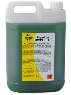 Moss Kill Concentrate - Removes Moss and Algae on Roofs, Drives, Concrete & Tarmac