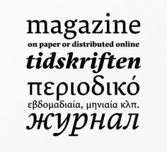 The best typefaces of 2013