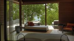 Park Hyatt Maldives Hadahaa - Gaafu Alifu, Maldives Atolls, Maldives - Luxury Hotel Vacation from Classic Vacations Maldives Resort, Beautiful Hotels, Outdoor Furniture, Outdoor Decor, Relax, Park, Luxury, Interior, Honeymoon Ideas