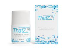 All-Natural ThatZit!™ is a powerful, all-in-one acne treatment that clears even the toughest outbreaks fast without causing dry skin. #acne