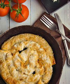 Phyllo dough Potato Pie @SECooking | Sandra | Sandra