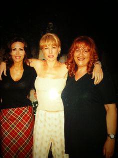 Con Sabrina feriali e Nancy Brilli
