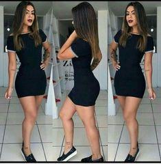 Fashion nova outfits casual ideas for 2019 Swag Outfits, Trendy Outfits, Trendy Fashion, Dress Outfits, Fashion Outfits, Womens Fashion, Sexy Dresses, Cute Dresses, Casual Dresses
