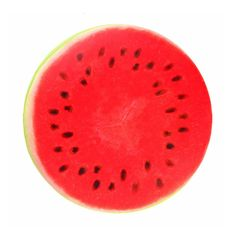 Fruit Slice Pillows #watermelon #red