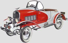 1932 Duesenberg Pedal Car  1420 mm long