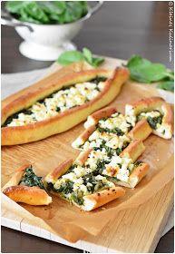 Pide mit Spinat und Käse - genau richtig für den Sommer!