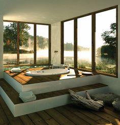baño con vistas 1