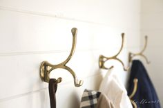 mudroom details - making the most of a small space