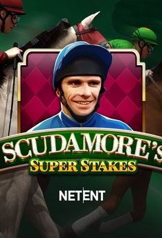#NetEnt gem Scudamore's Super Stakes is every punter's dream. The reel grid is laid upon a classic green background reminiscent of a spring's field. The font matches the theme of the game, and everything simply screams RACE.