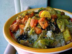 Roasted Pesto Vegetables with Quinoa