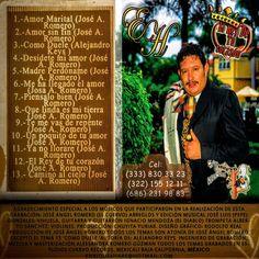"""Portada Posterior De Mi 4to. Producción Músical, Disco """"EL REY DE TU CORAZON"""" Dic. 2012-Febrero 2014 - Google Fotos"""