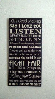 We will put this up in our bedroom in our new house. :)