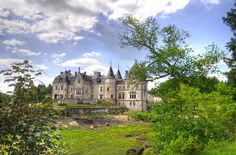 Château des Rochers-Sévigné ~ Brittany ~ France ~ Residence of Madame de Sévigné (1626-1696) who was a great diarist who wrote about Louis XIV and social gossip of the time.