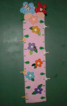 le mini dai monti: Il metro in stoffa per bambini. Tutorial / La toise en polaire et feutrine pour enfants: le tutoriel