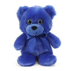 Red White and Blue Camo 6in Small Teddy Bear