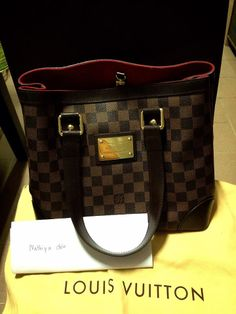 Authentic Louis Vuitton Hampstead. Used condition 8/10  Selling at 1088SGD  Tag#LV#Louis Vuitton#Cheap#authentic#real#Preowned#Preloved#Prada#chanel#Miu miu#Gucci#