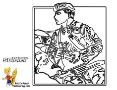 Armed Forces Day Coloring Pages Ww1 Us Marine Sailor