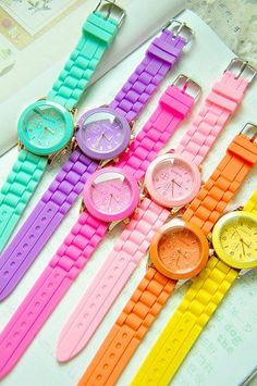 WATCHES: http://www.glamzelle.com/collections/jewelry/products/kim-silicone-watch-6-colors-available