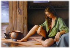How to paint with Oil by Nacho Quiroga
