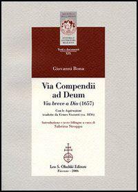 Prezzi e Sconti: #Vita compendii ad deum. via breve a dio  ad Euro 34.00 in #Libri #Libri