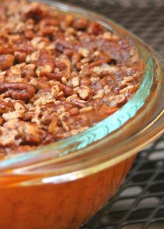 : Paleo Sweet Potato Casserole (and the Rest of Sunday Dinner) (Paleo Casserole Sweet Potato) Primal Recipes, Whole Food Recipes, Cooking Recipes, Cooking Ideas, Diet Recipes, Catering Recipes, Clean Recipes, Paleo Sweet Potato Casserole, Paleo Thanksgiving