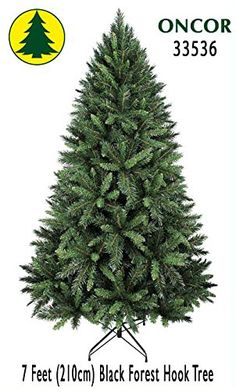 7ft EcoFriendly Oncor Black Forest Christmas Tree *** Check out the image by visiting the link.