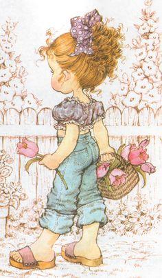 SARAH KAY Colección Imágenes tamaño XL Cards Illustration IMÁGENES Art Illustration