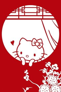 ┌iiiii┐                                                              Hello Kitty